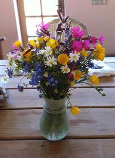 May posie: field flowers