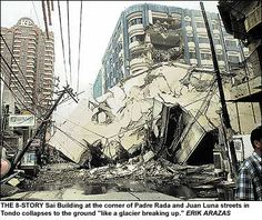 July 23, 2004- Collapse of the