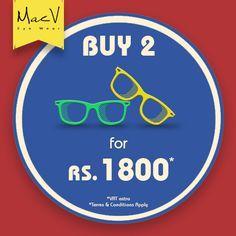 Great offers at Mac V eyewear #Inorbit Vashi #InorbitSale