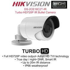 HIKVISION DS-2CE16C2T-IR HD Turbo 720P Bullet CCTV Camera
