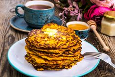 Tasty Tuesday Recipe: Sweet Potato and Zucchini Pancakes. Sweet potato, zucchini, onion, egg and spices cooked with just a little olive oil make these pancakes especially nourishing. Ww Recipes, Whole 30 Recipes, Clean Recipes, Cooking Recipes, Healthy Recipes, Recipies, Zucchini Pancakes, Potato Pancakes, Recipe For Mom