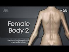 Zbrush Sculpting - Female body 2
