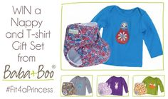 viva veltoro: Baba + Boo Nappy and T-shirt Gift Set Giveaway! #Fit4aPrincess Ends 7/21/13