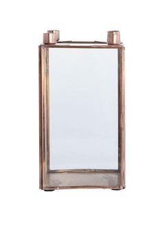 bolina rund spegel koppar fr n house doctor k p online p m bler och inredning. Black Bedroom Furniture Sets. Home Design Ideas