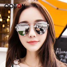 $4.08 (Buy here: https://alitems.com/g/1e8d114494ebda23ff8b16525dc3e8/?i=5&ulp=https%3A%2F%2Fwww.aliexpress.com%2Fitem%2F2017-Fashion-Sunglasses-Women-Luxury-Cat-Eye-Sunglasses-Famous-Lady-Brand-Designer-Twin-Beams-Sunglasses-Coating%2F32749570007.html ) 2017 Pink vintage Mirror female Women Cat Eye Sunglasses Brand Designer Twin-Beams ladies Sun glasses for women Oculos Feminino for just $4.08