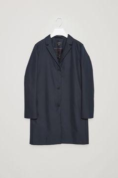 COS | Tailored twill coat