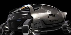 Military Vehicle, Future Transport, Futuristic Vehicle, PS 2, security forces, Mayeul Walser