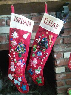 My kid's stockings!