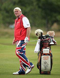 2012 British Open: Fashion Hits & Misses - Golf Digest Golf Fashion, Mens Fashion, Pga Tour Players, John Daly, Golf Images, Mens Golf Outfit, British Open, Golf Apparel, Golf Style