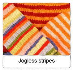 Jogless Stripes How-to
