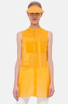 Akris Cotton Voile Tunic available at #Nordstrom