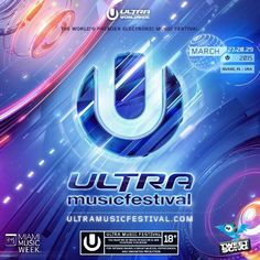 "The #Hottest #Electronic #Dance #Music #Festival in the #World #Miami2015 @Ultra is only 9 days away Can you feel it? #EDM #Dj""s #House #Music #Techno #trap #Bass #Dubstep #Rave #Trance #BayFrontPark #Progressive #VoiceOfEDM #VoiceOfUltra @damianpinto @tweetmysongcom"