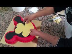 Micky Mause Temalı Pasta Yapımı-Mickey Mouse Gateau [HD] - YouTube Mickey Mouse, Disney Mickey, Walt Disney, Animation Film, 2nd Birthday, Cupcake, Barbie, Make It Yourself, Youtube