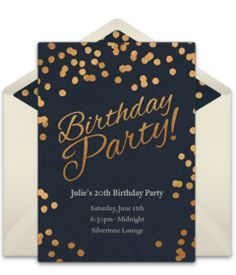 Customizable Birthday Party Dots Online Invitations Easy To Personalize And Send For A