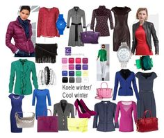 """""""Koele wintertype/ Cool winter color type."""" by roorda on Polyvore featuring mode, Anna Field, Lipsy, See by Chloé, Rebecca Minkoff, Avenue, Lane Bryant, Vince Camuto, Ippolita en Miu Miu"""