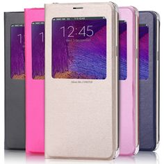 "Wholesale For Samsung Galaxy J7 Prime/On7 2016 5.5"" Case With Window View PU Leather Folio Flip Cover Coque Funda Capinhas #Affiliate"