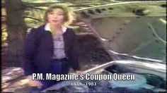 """I began my career fresh out of high school when I was discovered and dubbed """"The Coupon Queen""""."""