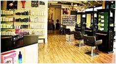 Small Hair Salon Design Ideas | Modern Hair Salon Decorating Ideas