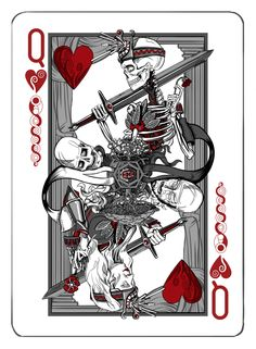 The Queen of Hearts (click for high resolution image)