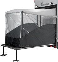 Dometic - Xtend A Room - Turns the ramp on your toy hauler to an extra room.