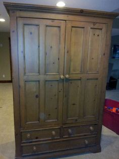 Broyhill Attic Heirlooms Armoire Decor For H Me Styles