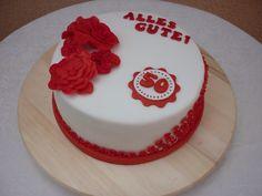 Fondant Torte zum 50. Geburtstag!!!