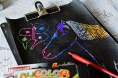 Kolorowa wydrapywanka