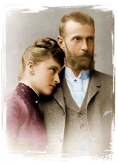 The Romanovs: Grand Duchess Elisabeth Feodorovna – sister of Empress Alexandra Feodorovna) and her husband, Grand Duke Sergei Alexandrovich – uncle of the Russian Emperor Nicholas II) Alexandra Feodorovna, Reine Victoria, Queen Victoria, Alexander Ii, Otto Von Bismarck, Grand Duc, Johann Wolfgang Von Goethe, House Of Romanov, Cultura General