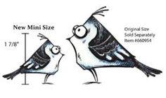 Image result for tim holtz MINI crazy birds