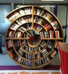 A wonderful bookcase