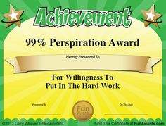 fun awards for employees - Google Search                                                                                                                                                     More