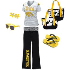 Iowa Hawkeye gear