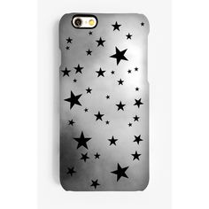 Rianna Phillips Monochrome Stars Phone Case ($33) ❤ liked on Polyvore featuring accessories, tech accessories, phones and phone cases