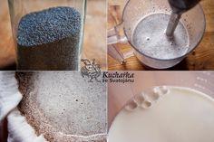 Kuchařka ze Svatojánu: MAKOVÉ MLÉKO Healthy Treats, Healthy Eating, Alternative Medicine, Glass Of Milk, Natural Remedies, Smoothies, Herbs, Homemade, Recipes
