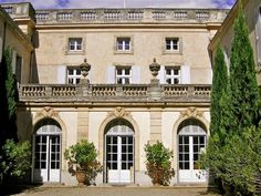Old French architecture is phenomenal and simple.