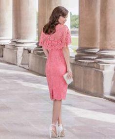 john charles coral dress