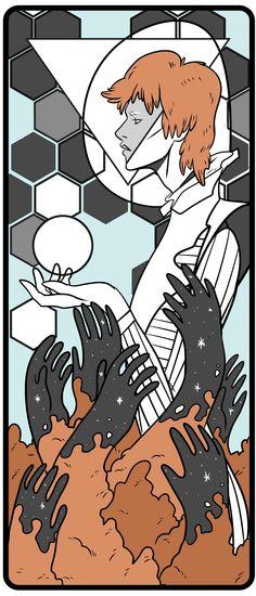Jelly artists pay tribute to David Bowie | Jo Ley #davidbowie #ziggystardust #starman #labyrinth #art #illustration #artist #rip #jellylondon