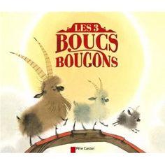 Les trois boucs bougons: Amazon.fr: Nathalie Ragondet, Anne Fronsacq: Livres
