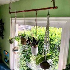 bohemian style plant rod I made! Great way to hang multiple plants without p. , New bohemian style plant rod I made! Great way to hang multiple plants without p. , New bohemian style plant rod I made! Great way to hang multiple plants without p. Diy Jardin, Apartment Decoration, Pot Hanger, House Plants Decor, Cactus Decor, Patio Plants, Pots For Plants, Sun Plants, Tomato Plants