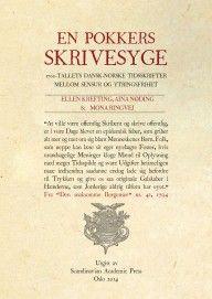 Mona Ringvej, Ellen Krefting, Aina Nøding En pokkers skrivesyge 1700-tallets dansk-norske tidsskrifter mellom sensur og ytringsfrihet #spartacus