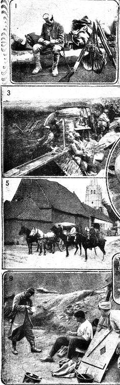 """WWI, 3 March 1918; """"Trésor et postes aux armées"""" - Le Petit Journal"""