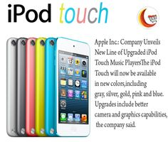 ‪#‎AppleInc‬:The new ‪#‎AppleiPodtouch‬ comes in new colors and Upgrades include better camera and graphics capabilities.
