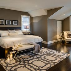 contemporary bedroom by Joshua Lawrence Studios INC