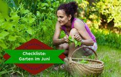 Checkliste Garten im Juni