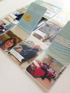 Project Life: great ideas for adding interactive flaps (and extra photos) to layouts