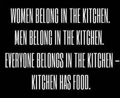 food over matter........