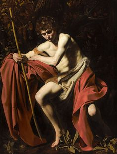 St. John the Baptist in the Wilderness  by Caravaggio