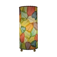 Banyan Fossilized Leaves Multi Table Lamp