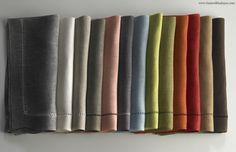 Linen Towels, Belgian Linen Napkins
