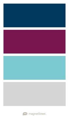 Navy, Sangria, Classic Gray, and Cream Rose Wedding Color Palette – custom color… 2020 – Dresses Fashion Womens 2020 Silver Wedding Colours, Champagne Wedding Colors, Winter Wedding Colors, Winter Colors, Sangria Wedding Colors, Champagne Color, Blue Colour Palette, Colour Schemes, Wedding Color Schemes